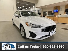 New 2020 Ford Fusion S FWD in Columbus, WI