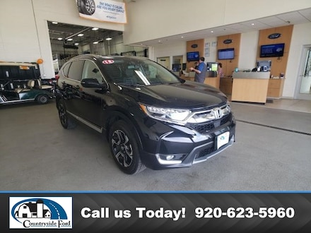 Used 2018 Honda CR-V Touring AWD For Sale in Columbus