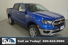 New 2019 Ford Ranger Lariat 4WD Supercrew 5 Box in Columbus, WI