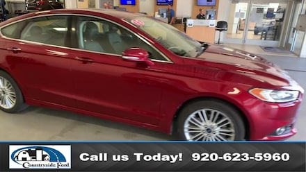 Used 2015 Ford Fusion SE AWD Sedan For Sale in Columbus
