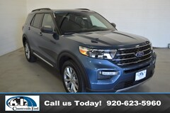 New 2020 Ford Explorer XLT 4WD in Columbus, WI