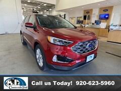New 2020 Ford Edge Titanium AWD in Columbus, WI
