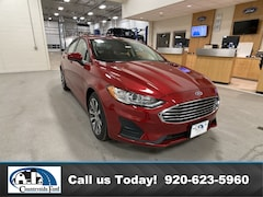 New 2020 Ford Fusion SE AWD in Columbus, WI