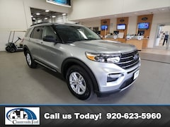 New 2021 Ford Explorer XLT 4WD in Columbus, WI