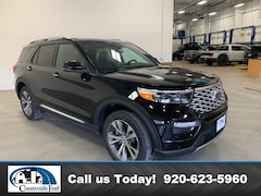 New 2020 Ford Explorer Platinum 4WD in Columbus, WI