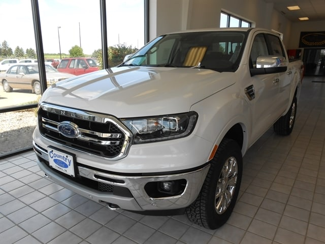 2019 Ford Ranger Lariat 4X4 with Chrome Appearance Package Pickup - Compact