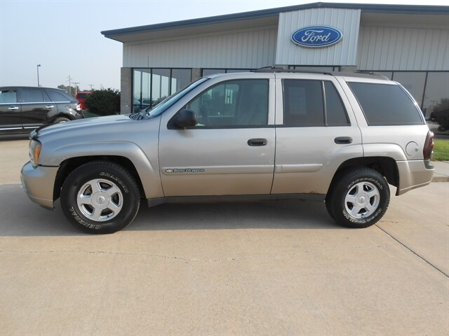 Used 2003 Chevrolet Trailblazer For Sale At Country Ford Inc Vin