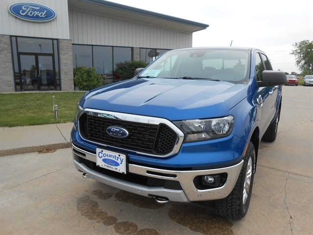 2019 Ford Ranger XLT 4X4 with Chrome Appearance Package and FX4 Pickup - Compact