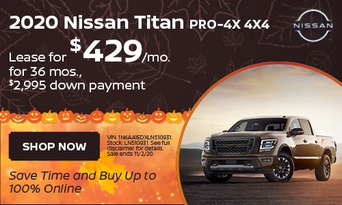 October Titan Lease Offer