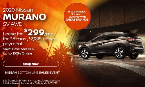 August Murano Lease Offer