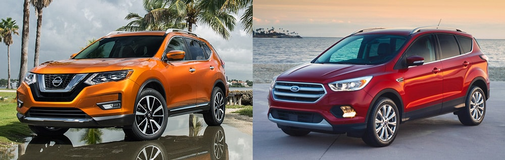 Should You Choose The  Nissan Rogue Or The  Ford Escape