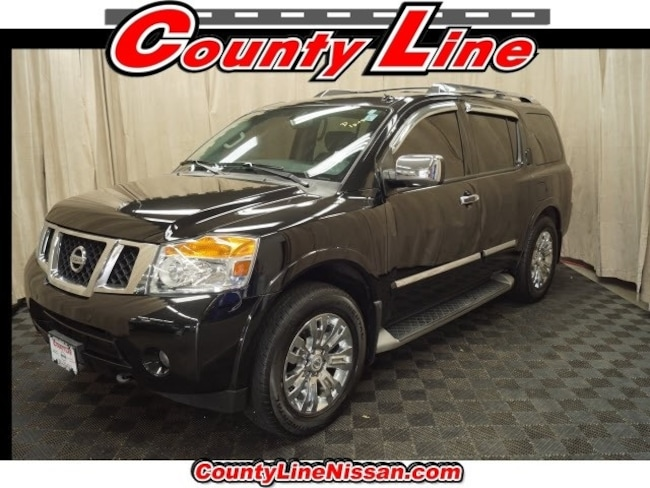 Certified Used 2015 Nissan Armada Platinum SUV for sale in CT