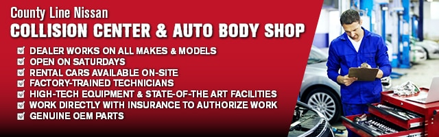 County Line Auto Parts >> Auto Body Repair Middlebury Ct County Line Nissan Collision