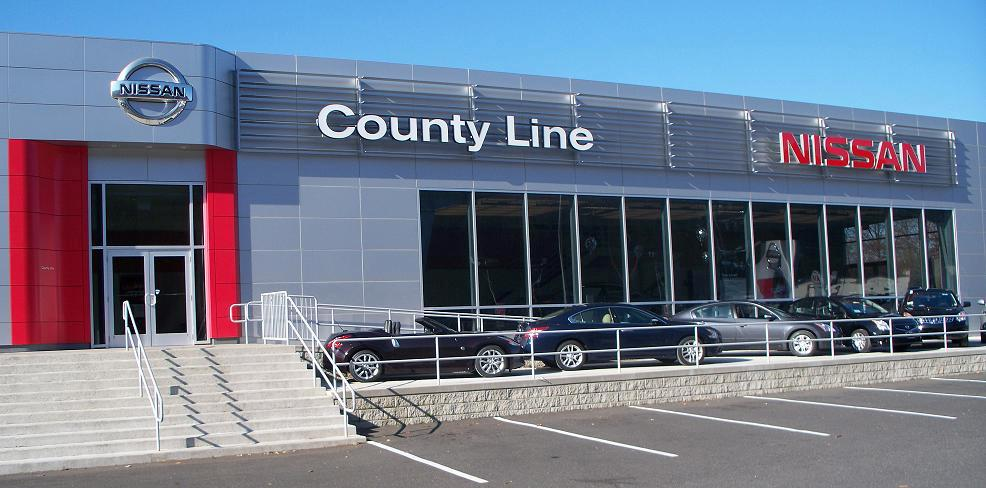 County Line Nissan dealership