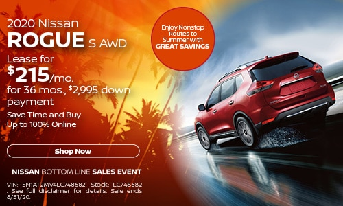 August Rogue Lease Offer