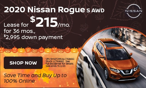 October Rogue Lease Offer