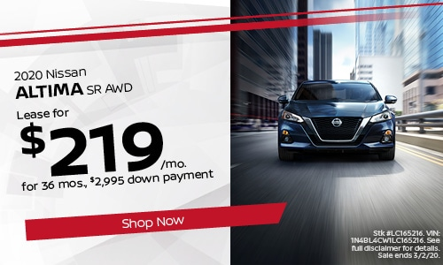 February Altima Lease Offer