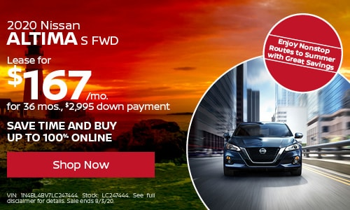 July Altima Lease Offer