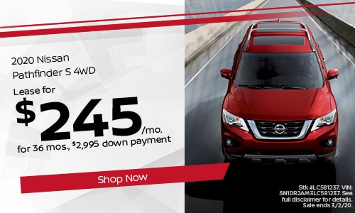 February Pathfinder Lease Offer