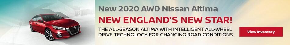 New 2020 AWD Nissan Altima