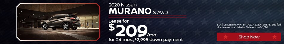 May Murano Lease Offer