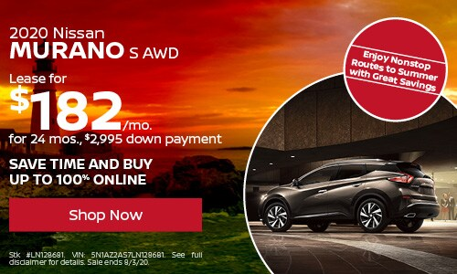 July Murano Lease Offer