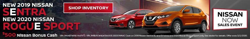 $500 Nissan Bonus Cash