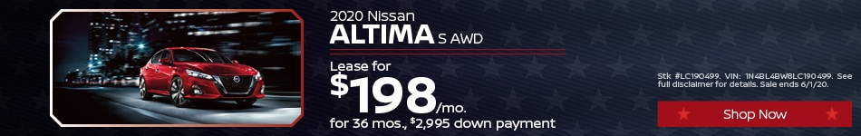 May Altima Lease Offer