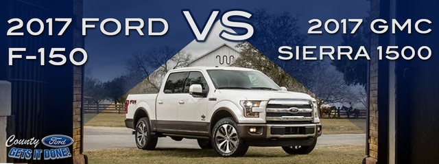 new 2017 gmc sierra 1500 vs 2017 ford f 150 price mpg review. Black Bedroom Furniture Sets. Home Design Ideas
