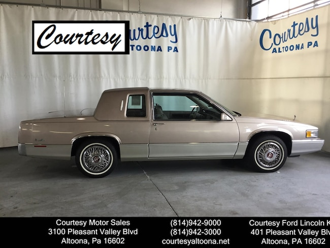 Used 1989 Cadillac Deville Coupe For Sale Altoona, PA
