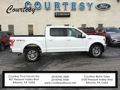 Certified Pre-Owned 2019 Ford F-150 LARIAT Truck 1FTEW1E51KKD74672 for Sale in Altoona, PA