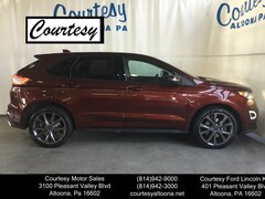 Certified Pre-Owned 2016 Ford Edge Sport SUV 2FMPK4APXGBB25250 for Sale in Altoona, PA