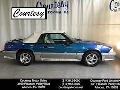 Used 1989 Ford Mustang GT Convertible 1FABP45E9KF217892 for Sale in Altoona, PA