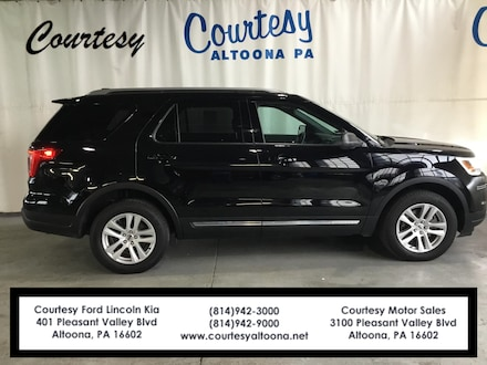 Used 2018 Ford Explorer XLT SUV for sale in Altoona, PA