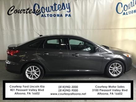 Used 2018 Ford Focus SE Sedan for sale in Altoona, PA