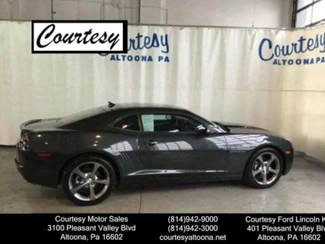 Used 2013 Chevrolet Camaro LT Coupe For Sale Altoona, PA