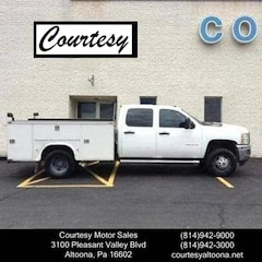 2012 Chevrolet Silverado 3500HD WT Crew Cab Long Bed Truck