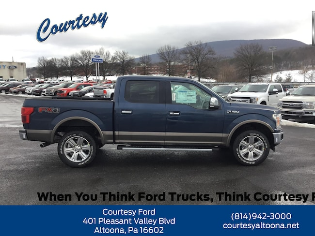 New 2019 Ford F-150 LARIAT Truck in Altoona PA