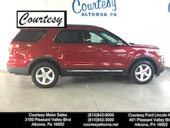 Certified Pre-Owned 2017 Ford Explorer XLT SUV 1FM5K8DH7HGB48708 for Sale in Altoona, PA