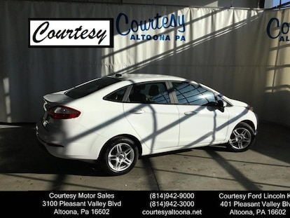 Courtesy Ford Altoona >> Used 2017 Ford Fiesta For Sale Altoona Pa Vin 3fadp4bj9hm118654
