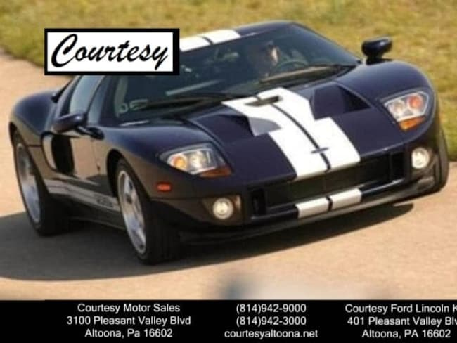 used 2005 ford gt for sale altoona pa near hollidaysburg huntingdon pa tyrone pa vin. Black Bedroom Furniture Sets. Home Design Ideas