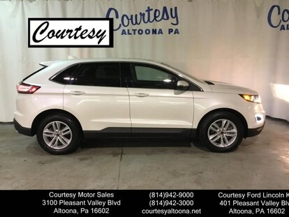 Courtesy Ford Altoona >> Used 2016 Ford Edge For Sale Altoona Pa Vin 2fmpk4j98gbb18279