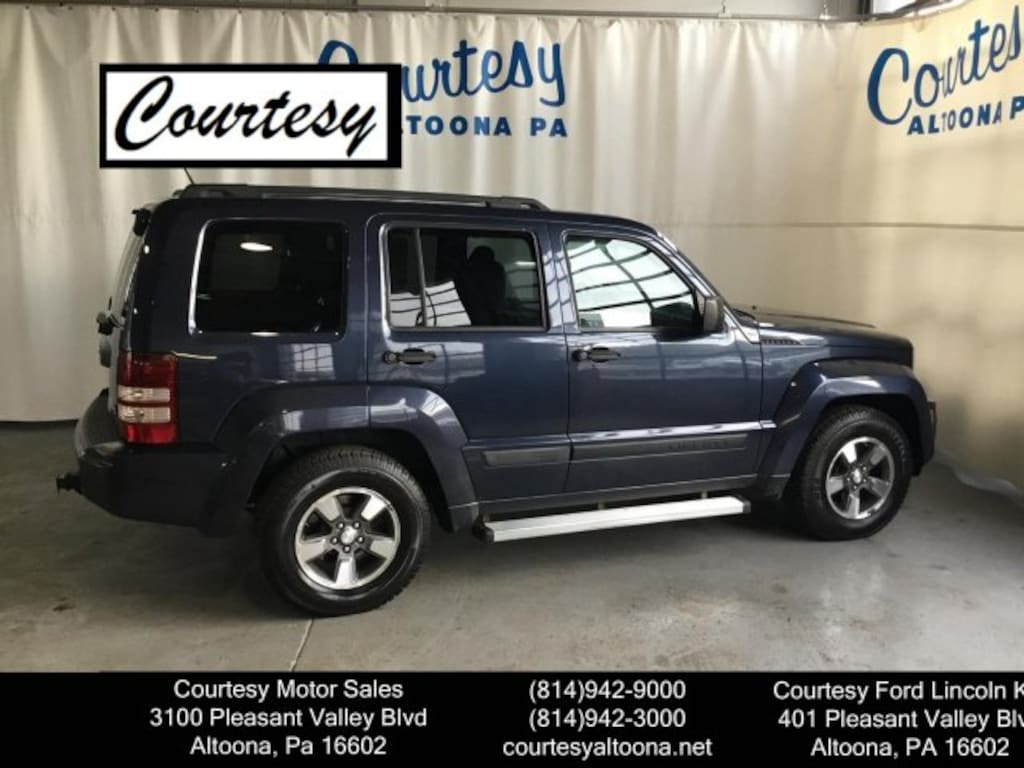 2008 Jeep Liberty For Sale >> Used 2008 Jeep Liberty For Sale Altoona Pa Vin 1j8gn28k58w157221