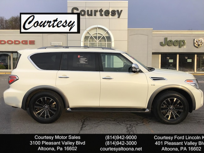 Pleasant Valley Motors >> Used 2018 Nissan Armada For Sale At Courtesy Motors Vin