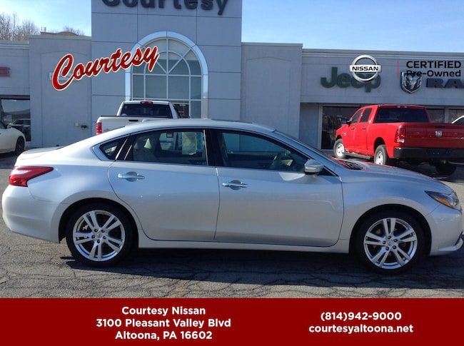 used 2016 nissan altima 3 5 sl for sale altoona pa vin 1n4bl3ap3gc122511. Black Bedroom Furniture Sets. Home Design Ideas
