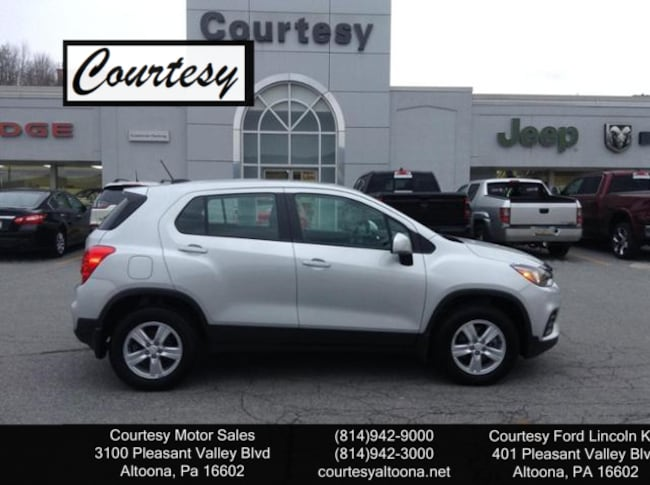 used 2017 chevrolet trax for sale altoona pa vin 3gncjnsb3hl213763. Black Bedroom Furniture Sets. Home Design Ideas