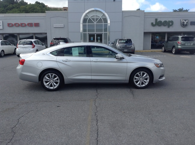 Used 2017 Chevrolet Impala LT Sedan For Sale Altoona, PA