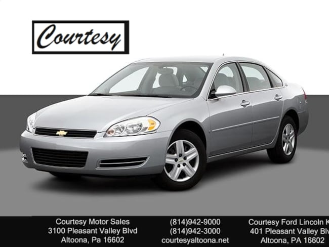 Used 2007 Chevrolet Impala 3.5L LT For Sale Altoona, PA