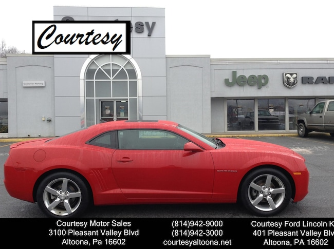 Used 2012 Chevrolet Camaro 1LT For Sale Altoona, PA