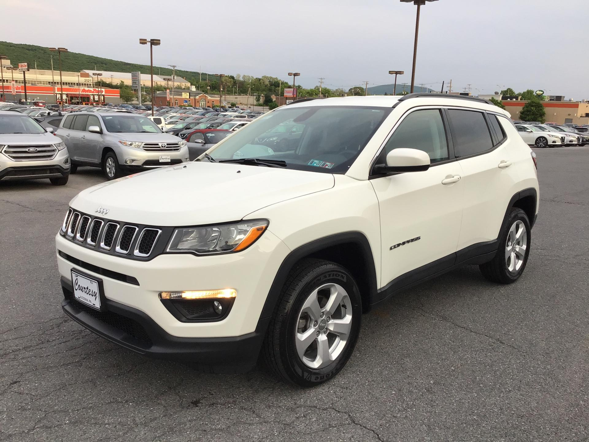 Used 2018 Jeep Compass For Sale at Courtesy Kia | VIN: 3C4NJDBB0JT282167